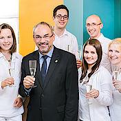 10-jähriges Jubiläum mit Bürgermeister Wolfgang Henseler